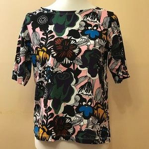 NEW Marimekko Uniqlo Women T-shirt Size S